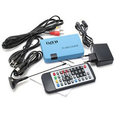 Digital DVB-T TV Converter LCD & CRT Box Audio Tuner Free View Recorder Receive