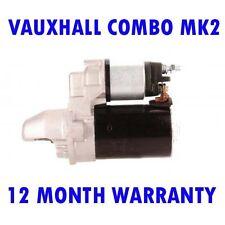 VAUXHALL COMBO MK2 MK II 1.3 CDTI 2004 2005 2006 2007 - 2012 RMFD STARTER MOTOR