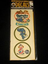 Vintage IMPKO Ringling Bros and Barnum & Bailey Circus Auto Travel Decals #2