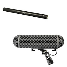Rode NTG-4 Shotgun Microphone with Rode Blimp