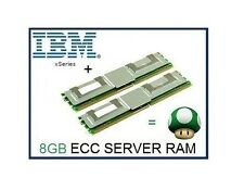 IBM 8GB (2x4GB) PC2-5300F ECC Fully Buffered FBDimm Server Ram Memory 4Rx8