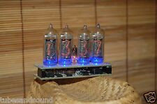 NIXIE TUBE CLOCK ASSEMBLED IN-14