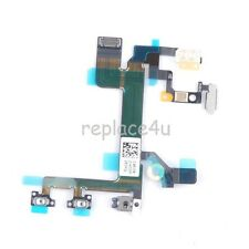 OEM Power Mute Volume Control Button Switch Connector Flex Cable for iPhone 5S