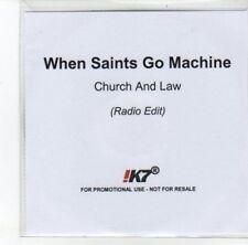 (DJ825) When Saints Go Machine, Church And Law - DJ CD