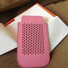 Authentic Hermes Iphone Case Cover 5P Pink Gold Bicolor Candy NIB