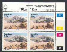 Namibia 1991 Minerals/Tin Mine 50c defin ctl blk n20801