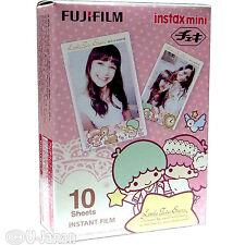 10 Fuji Instax Mini 8 Film Little Twin Stars Mini 7s/50s/90 Fujifilm Share SP-1