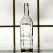 750mL Clear Bordeaux Wine Bottles (Case of 12)