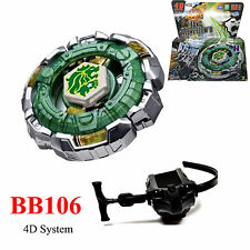 Fang Leone Beyblade 4D Top Metal Fusion Fight Master + Launcher Action Game 106