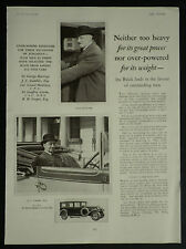 Sir George Hastings J C Gambles Buick GM Car 1928 Page Ad Advertisement 6355