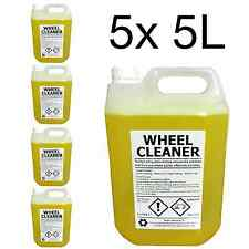 WHEEL CLEANER | 25 LITRE | Professional Grade | Acid Based | Dilute 1:10 | 25L
