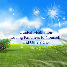 Guided Meditation Loving Kindness CD Peace Stress Relief Healing Relaxation Calm