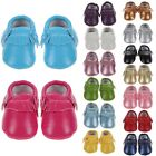 Baby Tassel Leather Shoes Infant Boy Girl Toddler Moccasin Shoes 0-18Months Hot