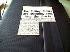 67-7  ephemera 1964 article the rolling stones release new e p bye bye johnny