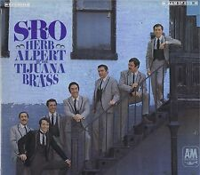 "HERB ALPERT & The TJ BRASS ""S-R-O"" Vinyl 33 LP Latin Pop Music Album EX Stereo"