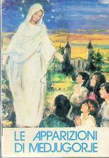 GA23 libretto Le Apparizioni di Medjugorie Santino   HolyCard