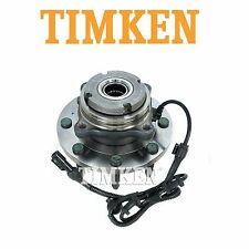 Ford Excursion F-250 Super Duty 4WD Front Wheel Bearing and Hub Assembly Timken