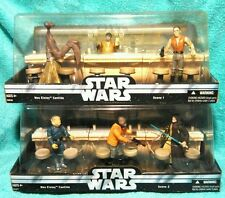 MOS EISLEY CANTINA  scene#1 & #2  | Star Wars figure Set