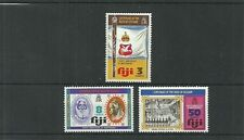 FIJI SG502-504 CENTENARY OF DEED OF CESSION & 4TH ANNIV OF INDEPENDENCE SET MNH