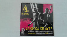 "ANTONIO VEGA ""LA CHICA DE AYER"" CD SINGLE 1 TRACKS RARO PRECINTADO SEALED"