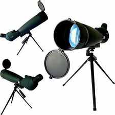 New 30-90x90 Spotting Scope with Tripod Black Perfect for any Outdoor Hobby