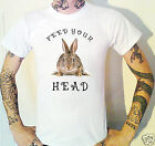 Feed Your Head T-Shirt White Rabbit Jefferson Airplane Psychedelic