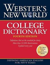 WEBSTER'S NEW WORLD COLLEGE DICTIONARY [ - MICHAEL AGNES WEBSTER (HARDCOVER) NEW