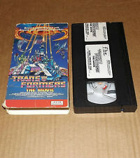 Transformers: The Movie (VHS, 1991) animated
