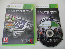 SAINTS ROW THE THIRD - MICROSOFT XBOX 360 - JEU X BOX 360 COMPLET
