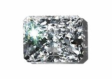 20 ct Radiant Cut Extreme Fire Top CZ Imitation Moissanite Simulant 19 x 14