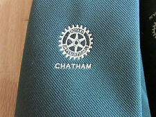 ROTARY International CHATHAM Tie by Toye Kenning & Spencer -  SEE PICTURES