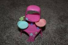 Littlest Pet Shop Petriplets Kitten Stand Pink LPS Replacement Toy Hasbro RARE