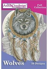 Wolves Embroidery Design Anita Goodesign
