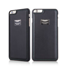 "Aston Martin Racing iPhone 6 Plus / 6s Plus 5.5"" Leather Back Cover Case (Black)"