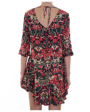 BNWT NUNUI BY BILLABONG AUSTRALIA LADIES SCROLL DRESS (6) RRP $70