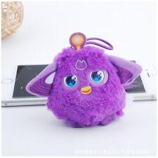 New Furby Purple Plush Soft Keyring Keychain Toy  Cute