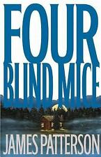 """Four Blind Mice by James Patterson (2002, Hardcover) Alex Cross 1st Edition"