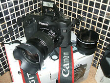 Canon EOS 50D 15.1 MP Digital SLR Camera - THREE  LENSES PROFESSIONAL-USE