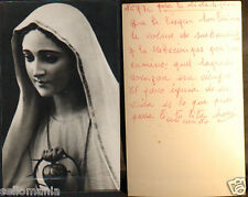 OLD BLESSED VIRGIN MARY HOLY CARD ANDACHTSBILD SANTINI ESTAMPA SEE MY SHOP CC622