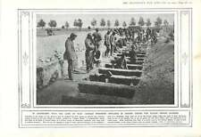 1915 German Pows Dig Graves Col Di Lana Tolmino