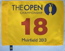 2013 OFFICIAL (Muirfield) BRITISH OPEN Golf FLAG
