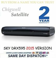SKY HD SATELLITE RECEIVER BOX AMSTRAD DRX595 3D READY MINT