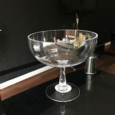 Clear Glass Footed Serving BOWL Dish SALAD FRUIT SWEETS SERVING POT PURI BOWL
