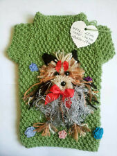 Pet Clothes Sweater For Small Dogs Yorkie - Hand Knitted