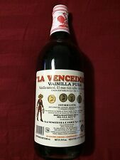 1 Botella Mexican Vanilla Glass Bottle  La Vencedora (1)