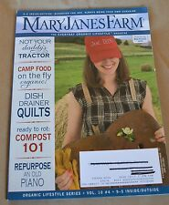 MaryJanes Farm Magazine June-July 2011 Not Your Daddy's Tractor Compost 101
