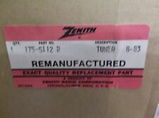 NEW Zenith 175-5112-R Vintage TV Tuner Module 8-83 Z-718 *FREE SHIPPING*