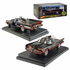 1:18 HOT WHEELS DJJ39 TV 1966 BATMOBILE mit BATMAN & ROBIN FIGUREN