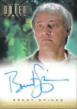 OUTER LIMITS SEX, CYBORGS & SCIENCE FICTION, AUTOGRAPH A2 BRENT SPINER
