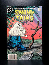COMICS: DC: Saga of the Swamp Thing #55 (1980s) - RARE (batman/alan moore/flash)